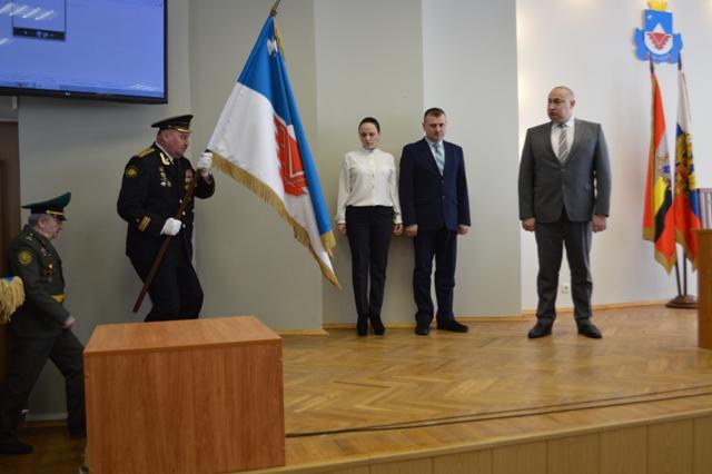 Флаг города Железногорска